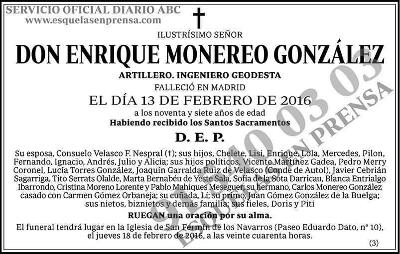 Enrique Monereo González